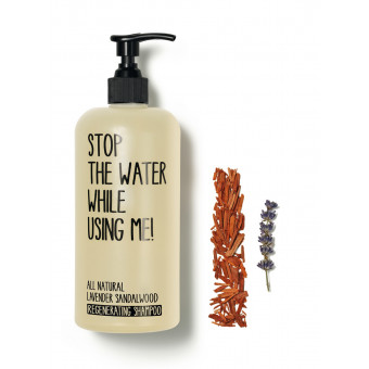 Shampooing régénérant Lavande et bois de santal 200ml Stop the water while using