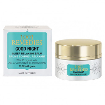 Baume anti anxiété relaxant Good night balm 1001 Remedies