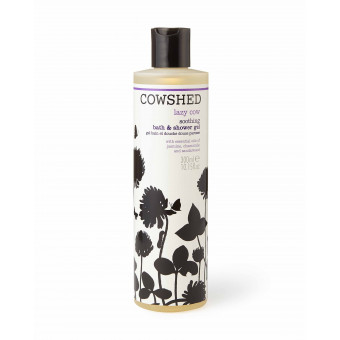 Gel bain et douche douce paresse lazy cow 300 ml Cowshed