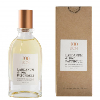 Parfum Naturel Labdanum & pur Patchouli 100BON 50ml