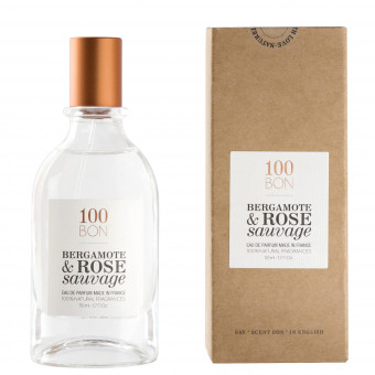 Parfum Naturel Bergamote & Rose Sauvage 100BON 50ml