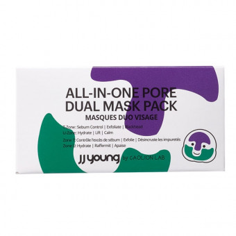 Masque Duo Visage (Zone T et Zone U) JJ Young