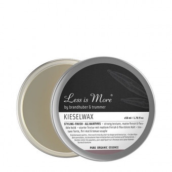 Cire mate a la silice Less is More 50 ml