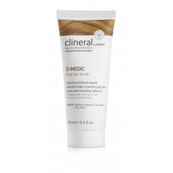 D-MEDIC Gel Exfoliant Pieds Clineral 100 ml