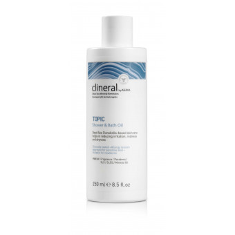 Huile bain et douche TOPIC Clineral 250 ml