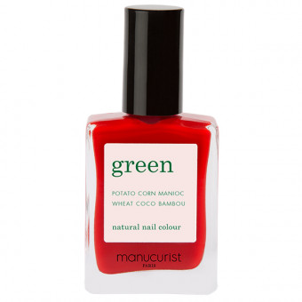 Vernis à ongles Green Poppy Red Manucurist 15 ml