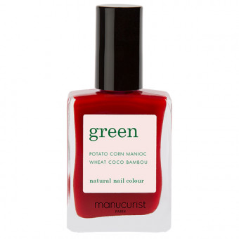Vernis à ongles Green Red Cherry Manucurist 15 ml