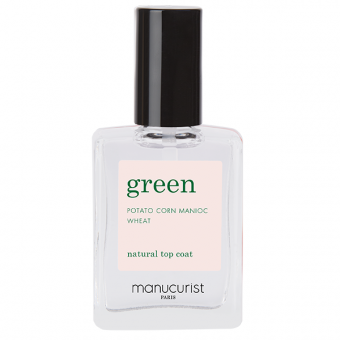 Top coat green Manucurist 15 ml