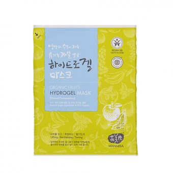 Masque Hydrogel Fruits Organiques et Tomate Whamisa