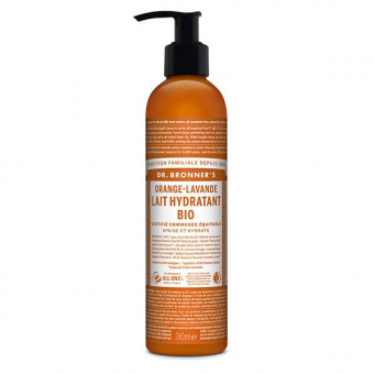Lait Corps Bio Orange Lavande Dr Bronner's 237 ml