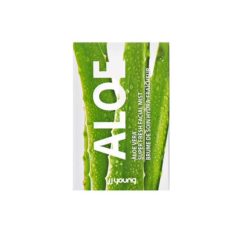 Brume visage Aloe Vera pocket JJ Young 15 ml