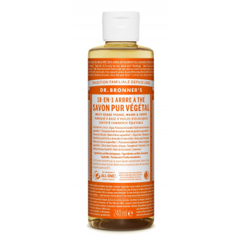 Savon liquide Tea Tree Dr Bronner's 240 ml