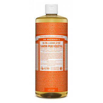 Savon liquide Tea Tree Dr Bronner's 945 ml