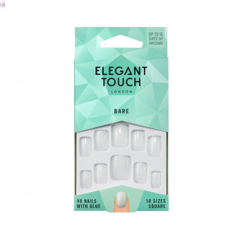 Faux Ongles Bare Nails Square Elegant Touch